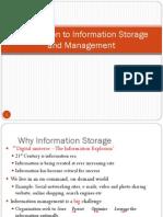 Information Storage Management