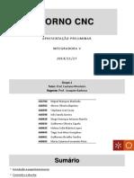 Torno CNC - Apresentação Preliminar