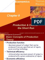 8 Production & Cost in Short Run
