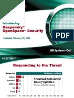KasperskyOpenSpaceSecurity Presentation