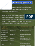 Clinical Pharmacy Practise