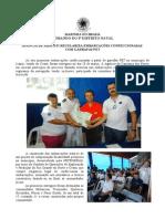 Agencia Da Capitania Dos Portos Em Aracati Regulariza Embarcacoes Confeccionadas Com Garrafas Pet