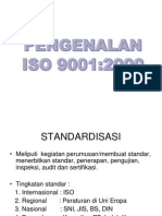 Pengenalan ISO 9001:2000