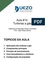 YRB PNSA Aula10 Turbinas a Gas