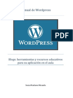 tutorial wordpress sonia mus