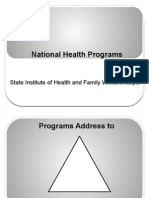 National Health Programs