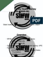 National Family Health Survey NFHS-3(2005-06)