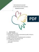 Proyecto Mediador de Paz