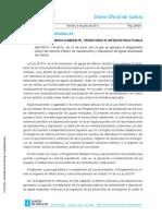 Decreto 141 2012 Galicia