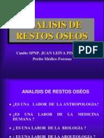 Analisis de Restos Oseos