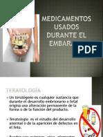 Medicamentos Usados Durante El Embarazo