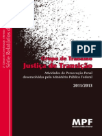 Transitional Justice - Working Group - Federal Prosecution Office - Brazil - 2011-2013-Libre