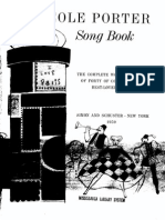 Cole Porter - The Songbook of Jazz - Piano