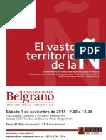 El Vasto Territorio de La Ñ, 1 de Noviembre de 2014-1