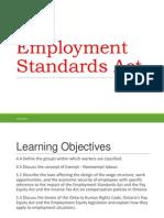 Employment Standards Act