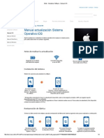 Entel - Actualizar Software - Manual IOS