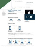 Entel - Actualizar Software - Manual IOS
