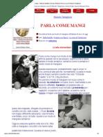 Parla Come Mangi - Materiali Didattici Di Scuola d'Italiano Roma a Cura Di Roberto Tartaglione