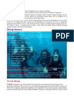 World War-II Wreck Diving to Palawan Philippines