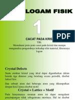 Minggu 1 - Cacat Kristal.ppt