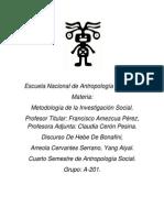 Metodología de Las Ciencias Sociales- Discurso de Hebe de Bonafini