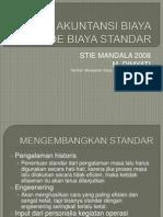 Akuntansi Biaya Standar