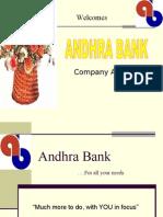 Andhra Bank Ppt