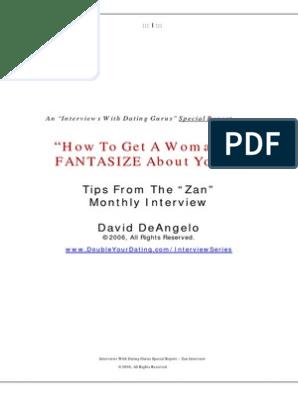 Dating tips av David DeAngelo