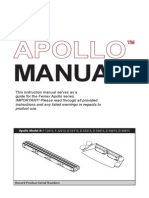 Feniex Apollo Operators Manual