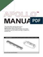 Feniex Apollo Operators Manual
