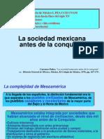 la sociedad mexicana antes de la conquista