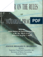 Primer on the Rules of Notarial Practice