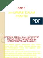 8 Informasi Dalam Praktik