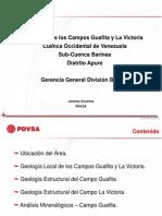 Generalidades Distrito Apure. Fecha