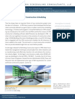 4D BIM the Evolution of Construction Scheduling