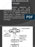 Instrumentos Dispersivos de Energía