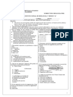 Prueba Institucional Bio 2014