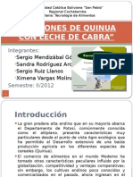 Proyecto Final Turrones de Quinua