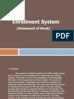 Enrollment System Ppt