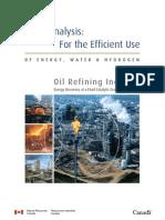 Pinch-Beispiel WRG Ölraffinerie Engl