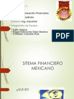 expocicion de Sitema Financiero Mexicano