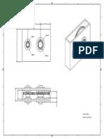 Plano Caja de Engrane Recto