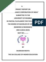 Shubham Insurance Projec
