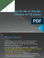 Foro El Nacional - Ponencia Fraude Electoral en 10 Pasos - Luis Manuel Aguana