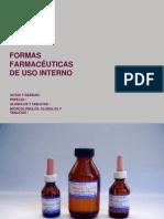 Formas Farmaceuticas udp