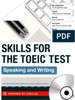 Skills for the Toeic Test Speaking and Writing