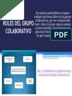 Roles Del Grupo Colaborativo.