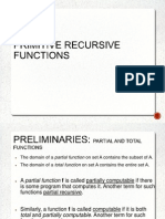 Ms Primitive Recursive