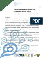Procesos de integración y participación ciudadana en la cibercomunicación ambiental en México