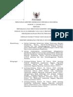 PMK Nomor_17 Tahun 2013 Ttg Permenkes Perubahan 148 Tahun 2010 Ttg Praktik Perawat